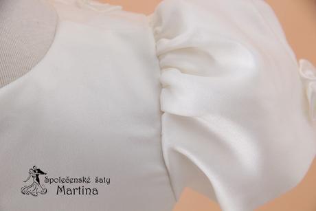 Šaty pro družičku nebo na křest do 18 měs, 74