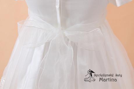 Šaty pro družičku nebo na křest do 18 měs, 86
