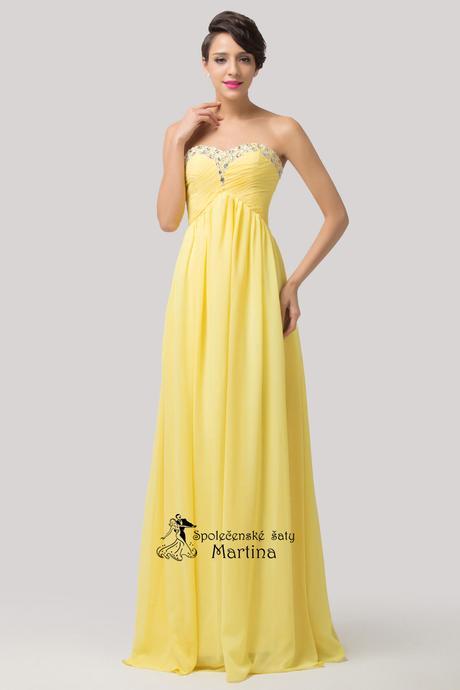 Společenské-maturitní-plesové šaty-do tanečních, 46