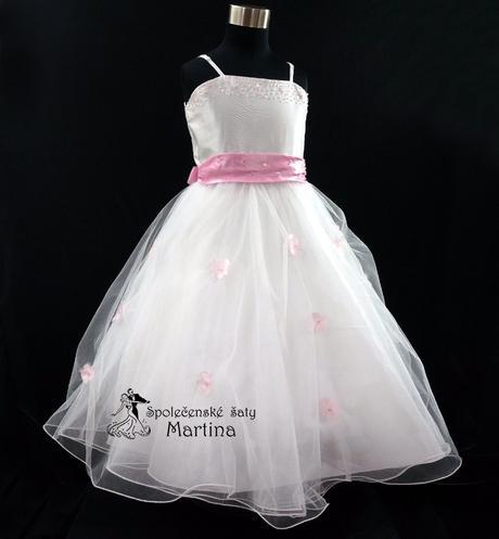 Společenské šaty pro družičku 1-12 let, 116