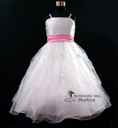 Společenské šaty pro družičku 1-12 let, 122