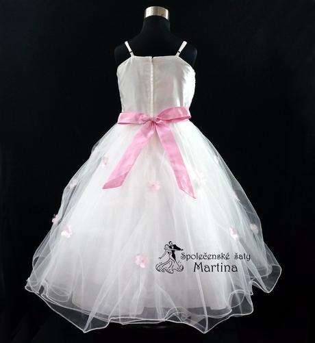 Společenské šaty pro družičku 1-12 let, 134