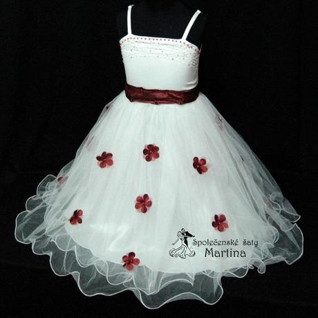 Společenské šaty pro družičku 1-6 let, 110