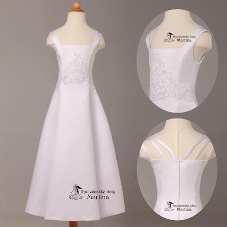 Společenské šaty pro družičku , 128