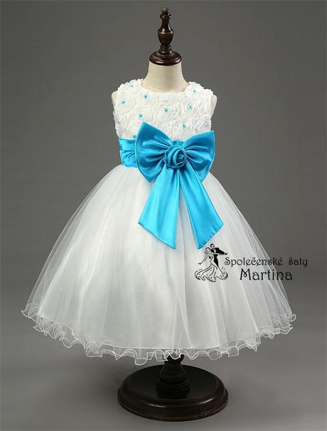 Společenské šaty pro družičku 2-10 let, 86