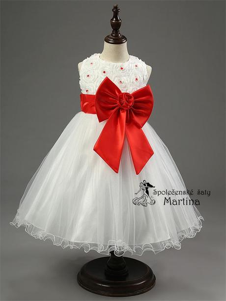 Společenské šaty pro družičku 2-10 let, 98