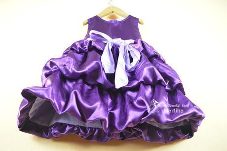 Společenské šaty pro družičku 2-6 let, 104