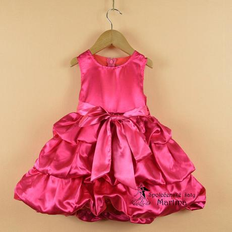 Společenské šaty pro družičku 2-6 let, 122