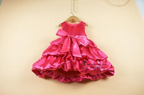 Společenské šaty pro družičku 2-6 let, 92