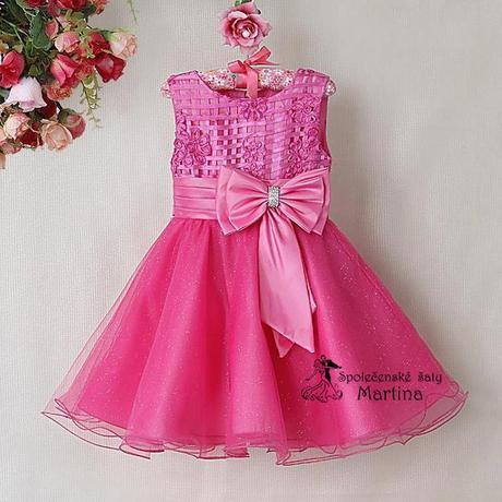 Společenské šaty pro družičku 2-7 let, 116