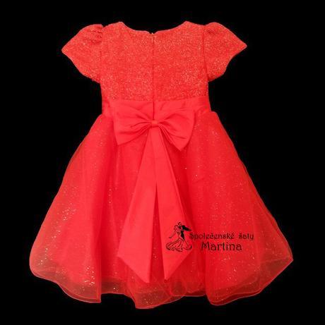Společenské šaty pro družičku 2-8 let, 116