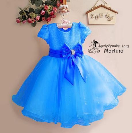 Společenské šaty pro družičku 2-8 let, 122