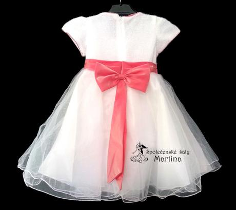 Společenské šaty pro družičku 2-8 let, 134
