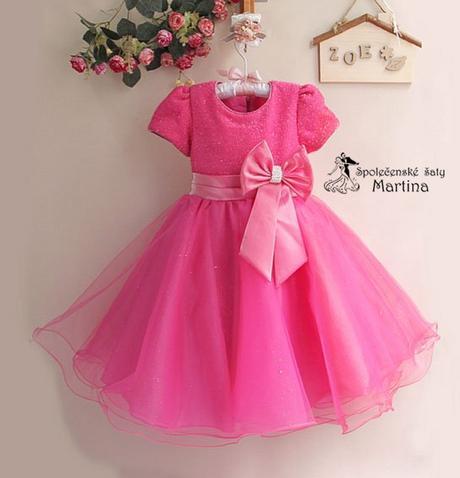 Společenské šaty pro družičku 2-8 let, 86