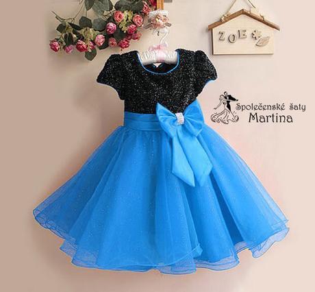 Společenské šaty pro družičku 2-8 let, 98