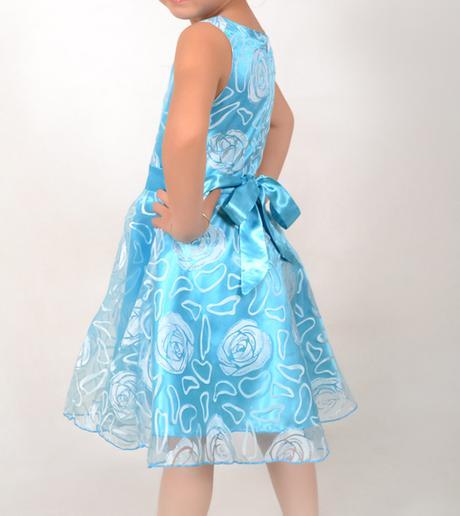 Společenské šaty pro družičku 3-12 let, 104