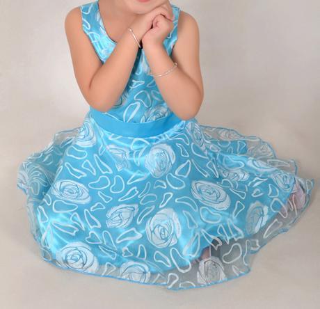 Společenské šaty pro družičku 3-12 let, 128