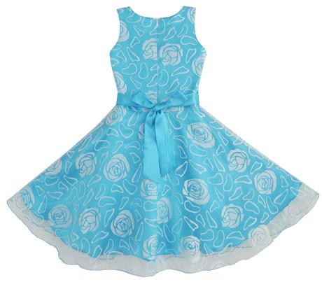 Společenské šaty pro družičku 3-12 let, 158