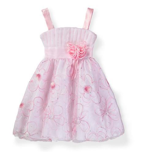 Společenské šaty pro družičku 3-7 let, 98