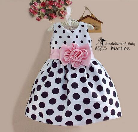 Společenské šaty pro družičku 3-8 let, 104