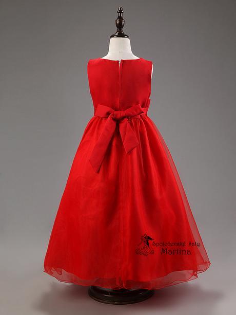 Společenské šaty pro družičku 3-9 let, 110