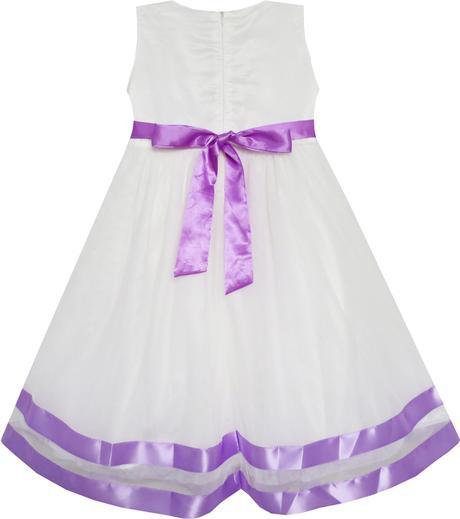 Společenské šaty pro družičku 4-10 let, 122