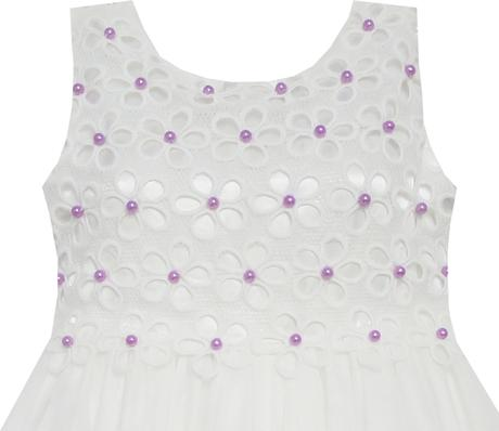 Společenské šaty pro družičku 4-10 let, 134