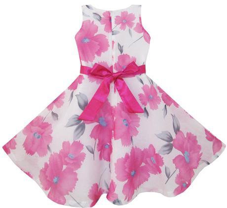 Společenské šaty pro družičku 4-12 let, 134
