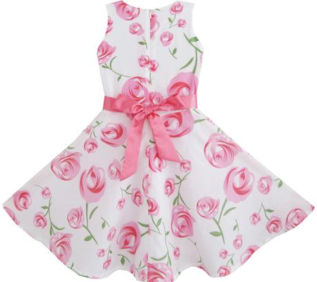 Společenské šaty pro družičku 4-12 let, 152