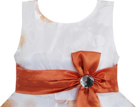 Společenské šaty pro družičku 4-12 let, 158