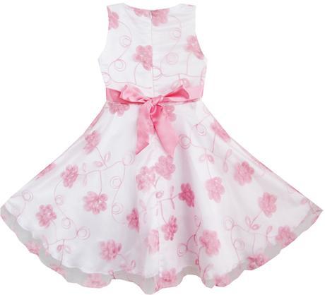 Společenské šaty pro družičku 4-12 let - SKLADEM, 128