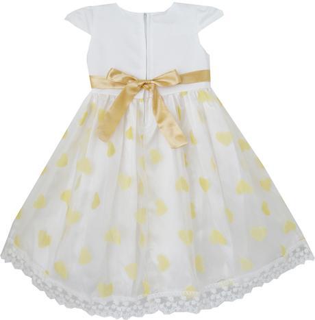 Společenské šaty pro družičku 4-8 let, 122