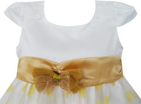 Společenské šaty pro družičku 4-8 let, 128