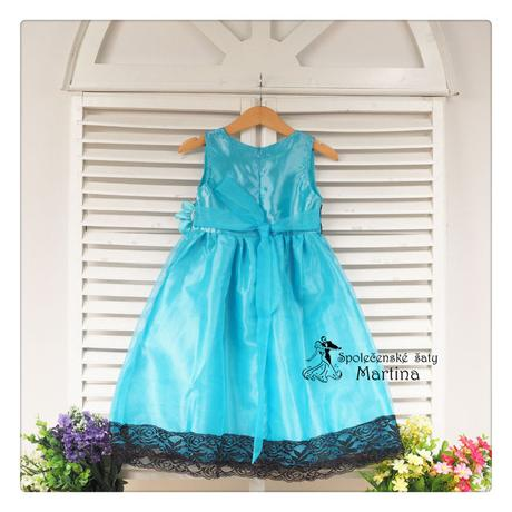 Společenské šaty pro družičku 4-9 let, 110