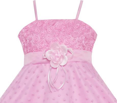 Společenské šaty pro družičku 5-8 let, 116