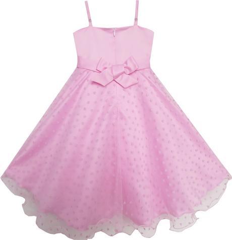 Společenské šaty pro družičku 5-8 let, 128