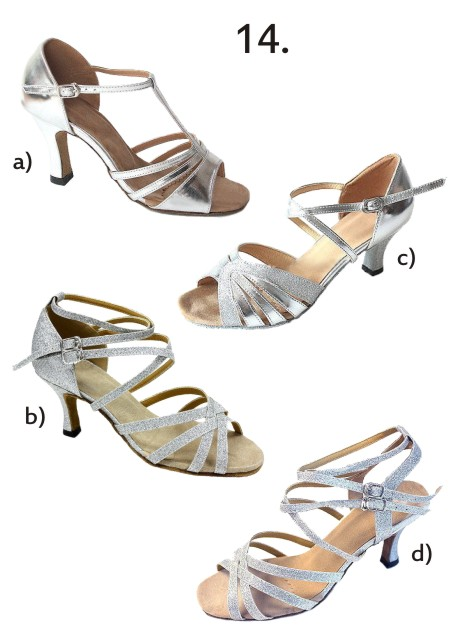 Společenské taneční boty vel. 34-42,5, 35