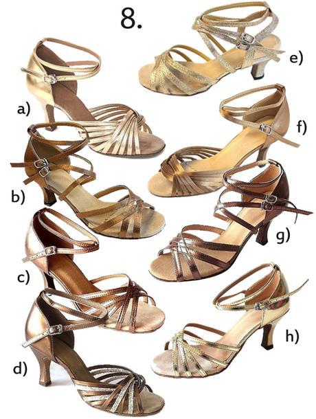 Společenské taneční boty vel. 34-42,5, 36