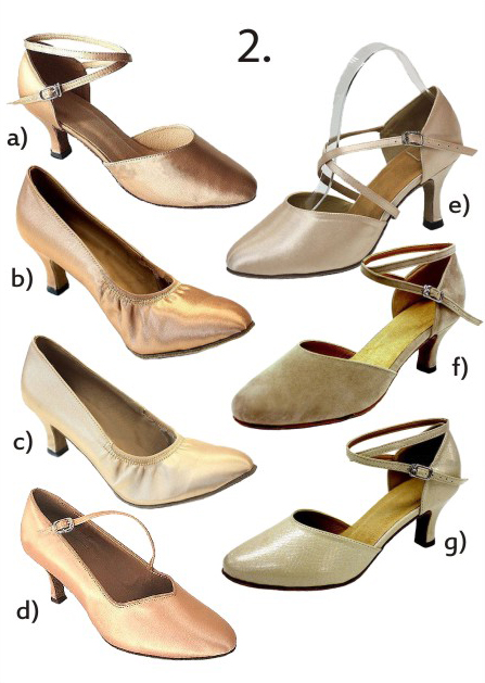 Společenské taneční boty vel. 34-42,5, 38