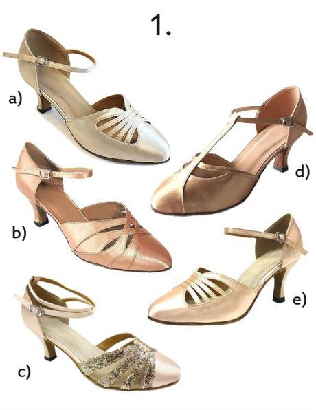 Společenské taneční boty vel. 34-42,5, 41