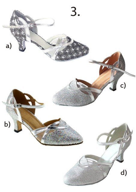 Společenské taneční boty vel. 34-42,5, 43