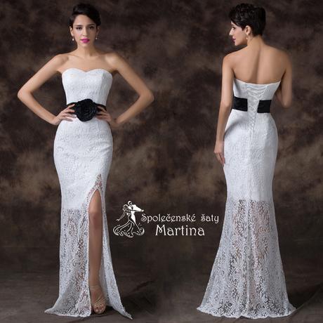 Svatební krajkové šaty, 42