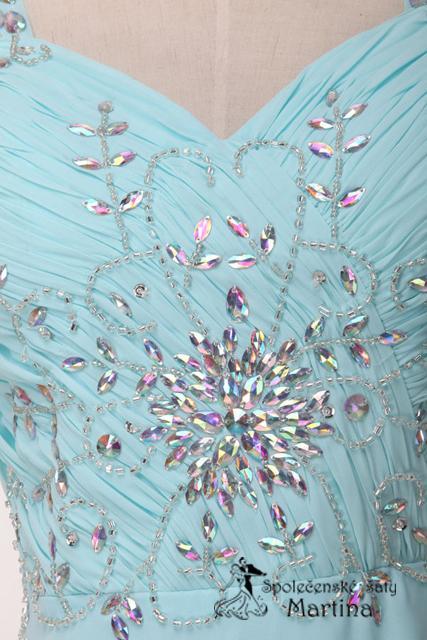 Svatební šaty bledě modré , 34