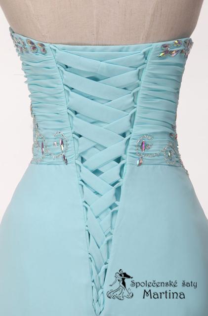Svatební šaty bledě modré , 36