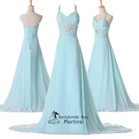 Svatební šaty bledě modré , 38