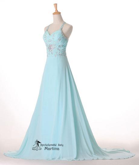 Svatební šaty bledě modré , 44