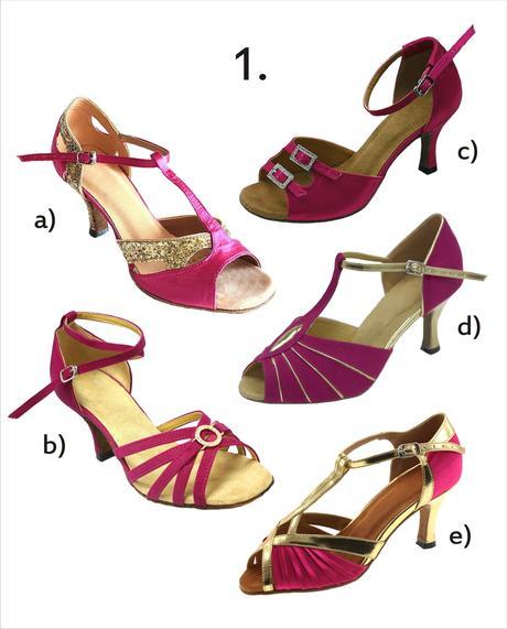 Taneční boty mnoha stylů vel. 34-42,5 , 37