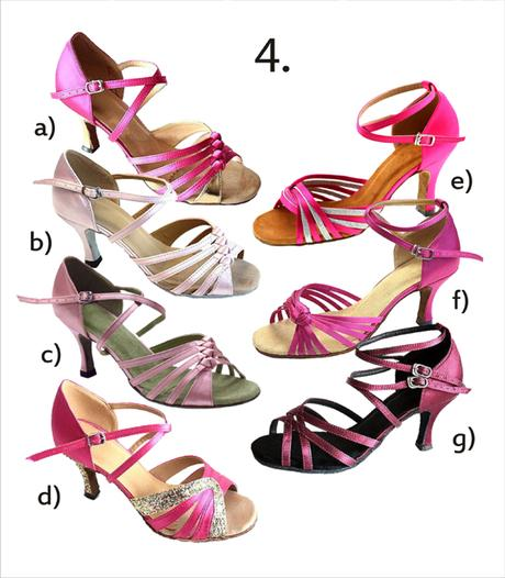 Taneční boty mnoha stylů vel. 34-42,5 , 39