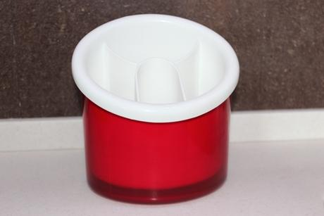 Odkapávač na příbory Latina červený, Guzzini,