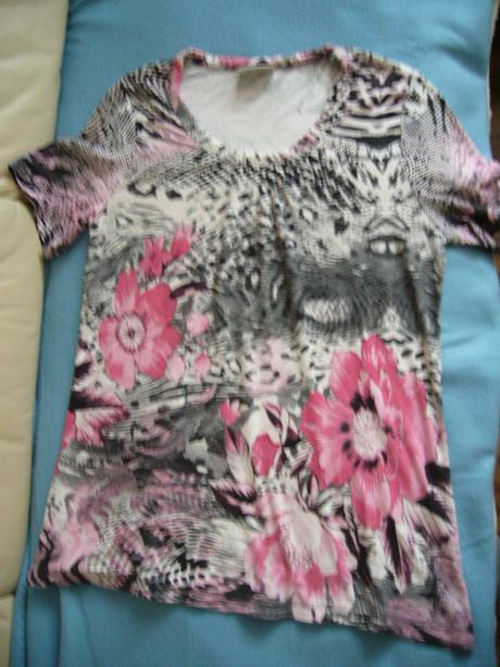 Květinové triko zn. CA vel. 42, 42